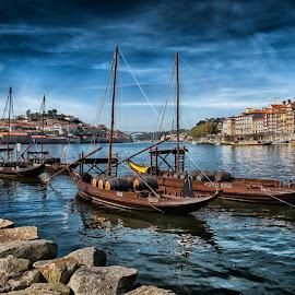 Porto Cruz by Guy Gillade - City,  Street & Park  Historic Districts