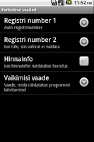 Screenshot of M-Parking Estonia