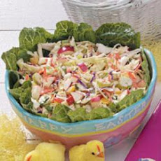 Easter Grass Slaw