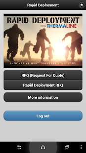 Rapid Deployment - screenshot