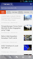 Screenshot of Dolphin Browser (Indonesia)