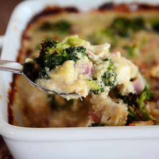 Creamy Chicken and Quinoa Cordon Bleu Casserole