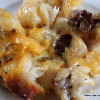 Country Gravy and Biscuit Breakfast Casserole