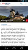 Screenshot of TOP100 Czech Republic's sights