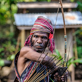 man from alor village by Arif Djohan - People Portraits of Men ( Travel, People, Lifestyle, Culture,  )