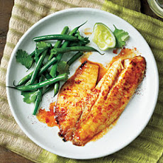 Sweet and Spicy Citrus Tilapia