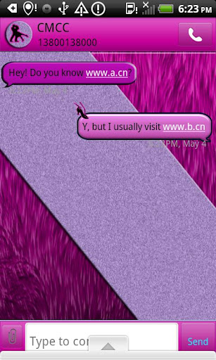 GO SMS THEME DancingDiva1