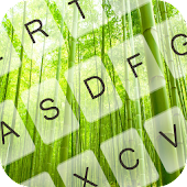Free Bamboo Forest Keyboard Theme APK for Windows 8