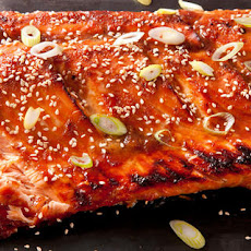 Miso-Ginger Glazed Salmon Recipe