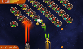 Screenshot of Chicken Invaders 4 Thanksgivin