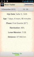 Screenshot of Moon (Phase) Tracker