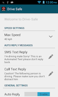 Drive Safe - screenshot