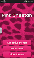 Screenshot of Pink Cheetah GO Keyboard