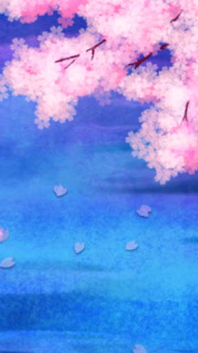 Lake with Cherry blossom