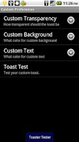 Screenshot of Toast SMS Pro