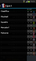 Screenshot of Football Ligue 1 2014 - 2015
