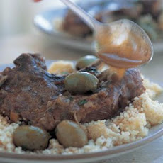 Braised Moroccan Lamb Chops