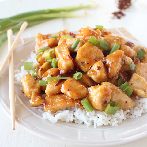 Gluten Free Chinese Honey Chicken