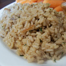 Almost Instant Onion Rice
