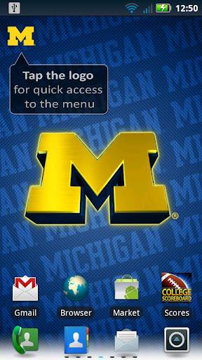 Michigan Wolverines Revolving