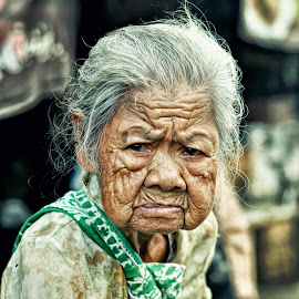 old grandmother by Peppy Coy - People Street & Candids