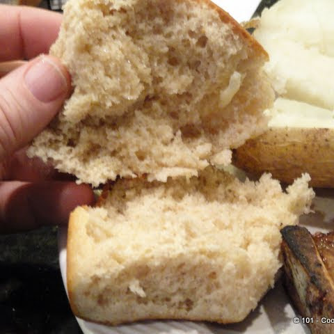 Quick 'n Easy Honey Whole Wheat Dinner Rolls