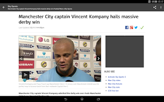 Screenshot of Football News