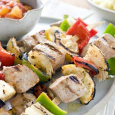 South Beach Fish Kabobs