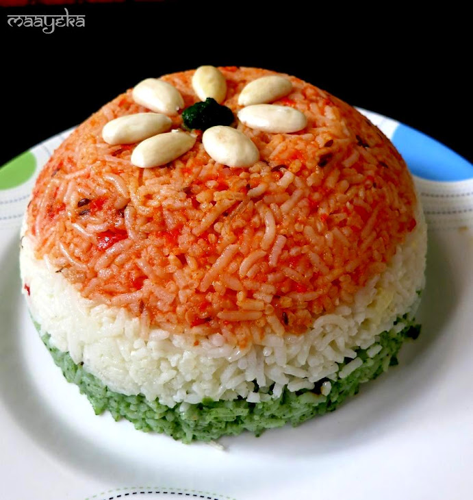 Tiranga Pulao / Vegetable Pilaf Recipe | Yummly