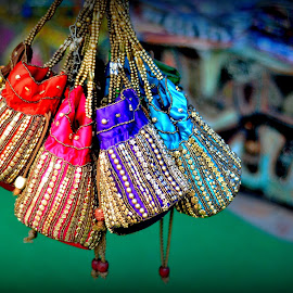 A Bunch  by Prasanta Das - Artistic Objects Clothing & Accessories ( colorful, bunch, bags )