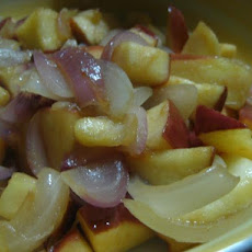 Apples and Onions: a Side Dish for Pork