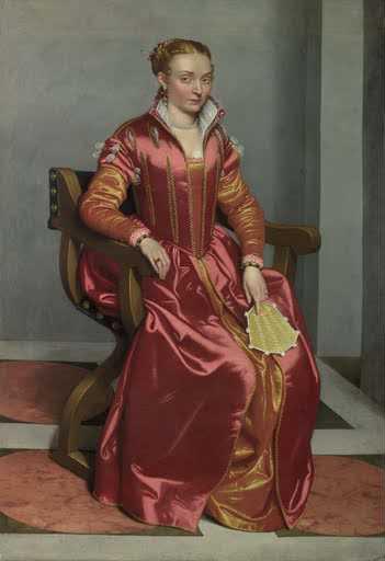 Moroni Giovan Battista, Dama in rosso
