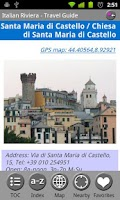 Screenshot of Italian Riviera & Liguria