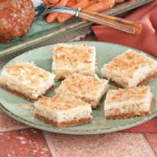 Coconut Macadamia Bars