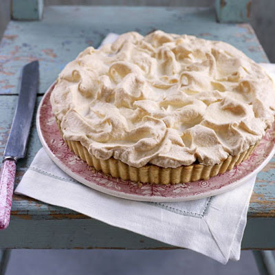 Toffee Meringue Pie