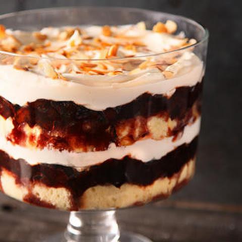 Drunken Prune–Mascarpone Trifle
