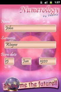 Numerology by Thania (Free) - screenshot