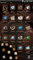 Screenshot of Next Launcher Chocolate Theme