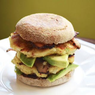 Double Stacked Crab Cake Sandwiches with Avocado and Bacon