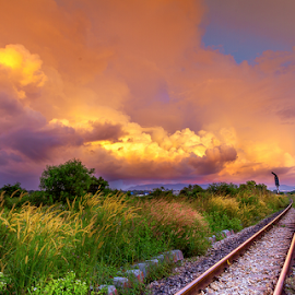 by Asher Jr Salvan - Landscapes Cloud Formations