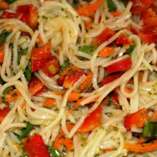 Somen Noodle Salad With Ginger-Cilantro Dressing