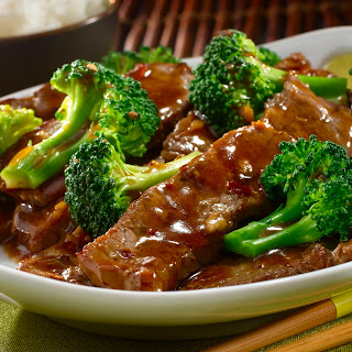 Ginger Beef & Broccoli