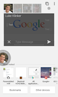Screenshot of SlideOver Messaging
