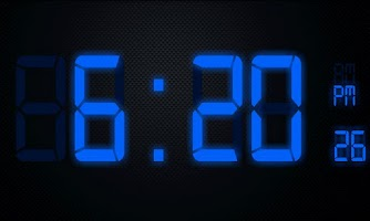 Screenshot of Digital LCD Clock - Free