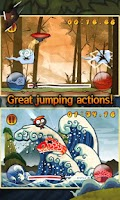 Screenshot of Ninja Bounce