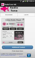 Screenshot of Radiotuna - Grooveshark AIO MB