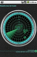 Screenshot of Heathrow Radar