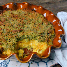 Butternut Squash Tian with Herbed Bread Crumbs