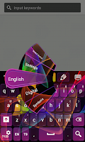 Screenshot of Color Electric Keyboard