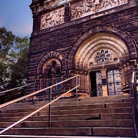 President Garfield's Memorial by Bridget Wegrzyn - Buildings & Architecture Public & Historical